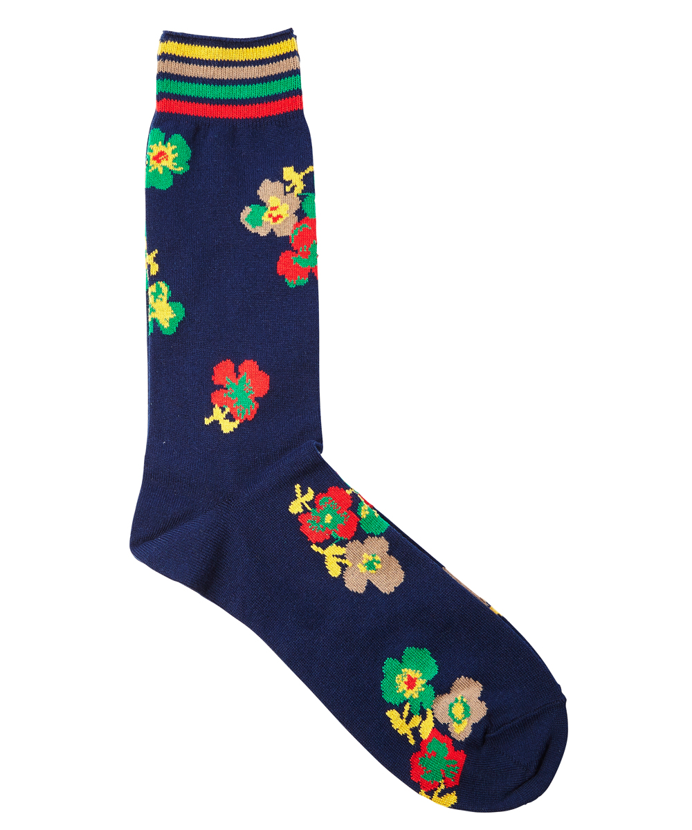 FLOWER PRINT SOCKS