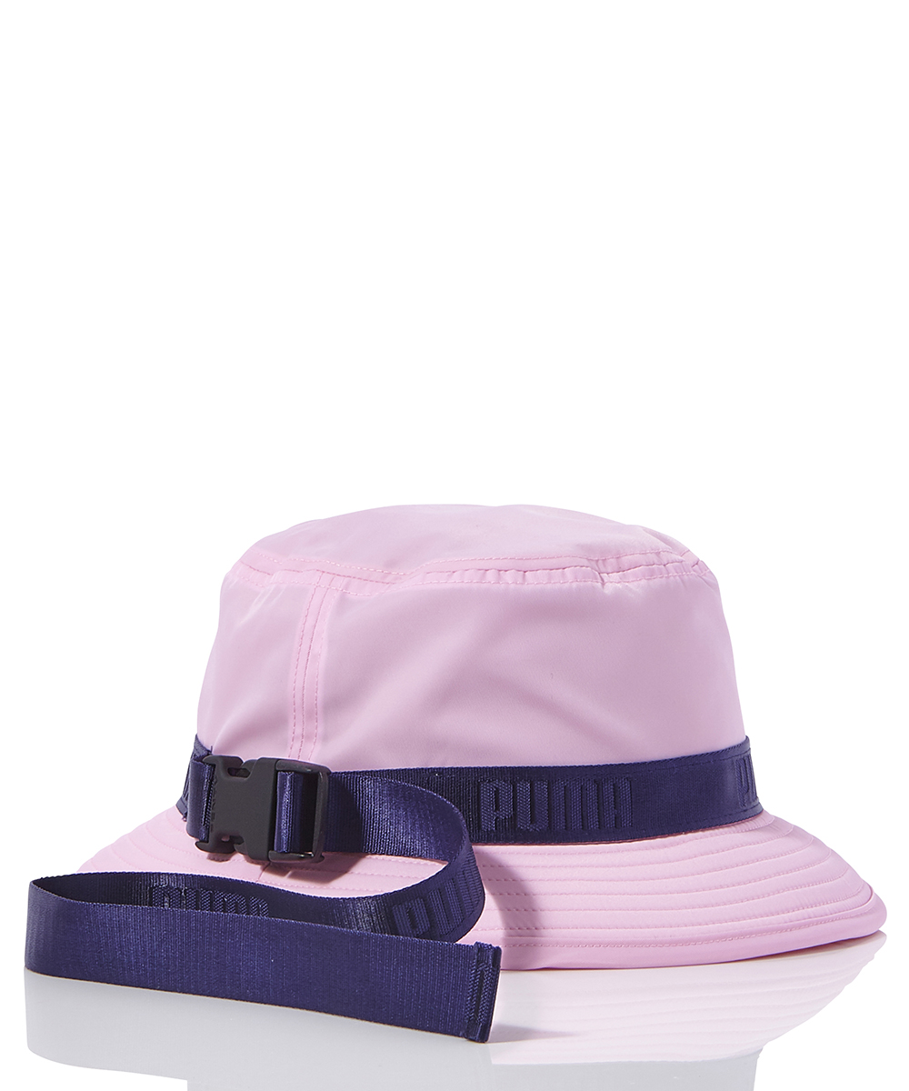 STRAPPED BUCKET HAT