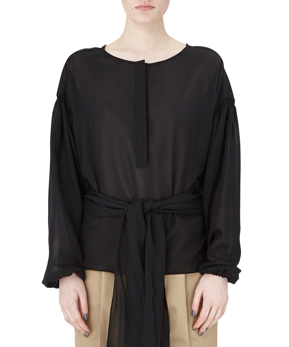 BLOUSE WITH DROPED SLEEVES