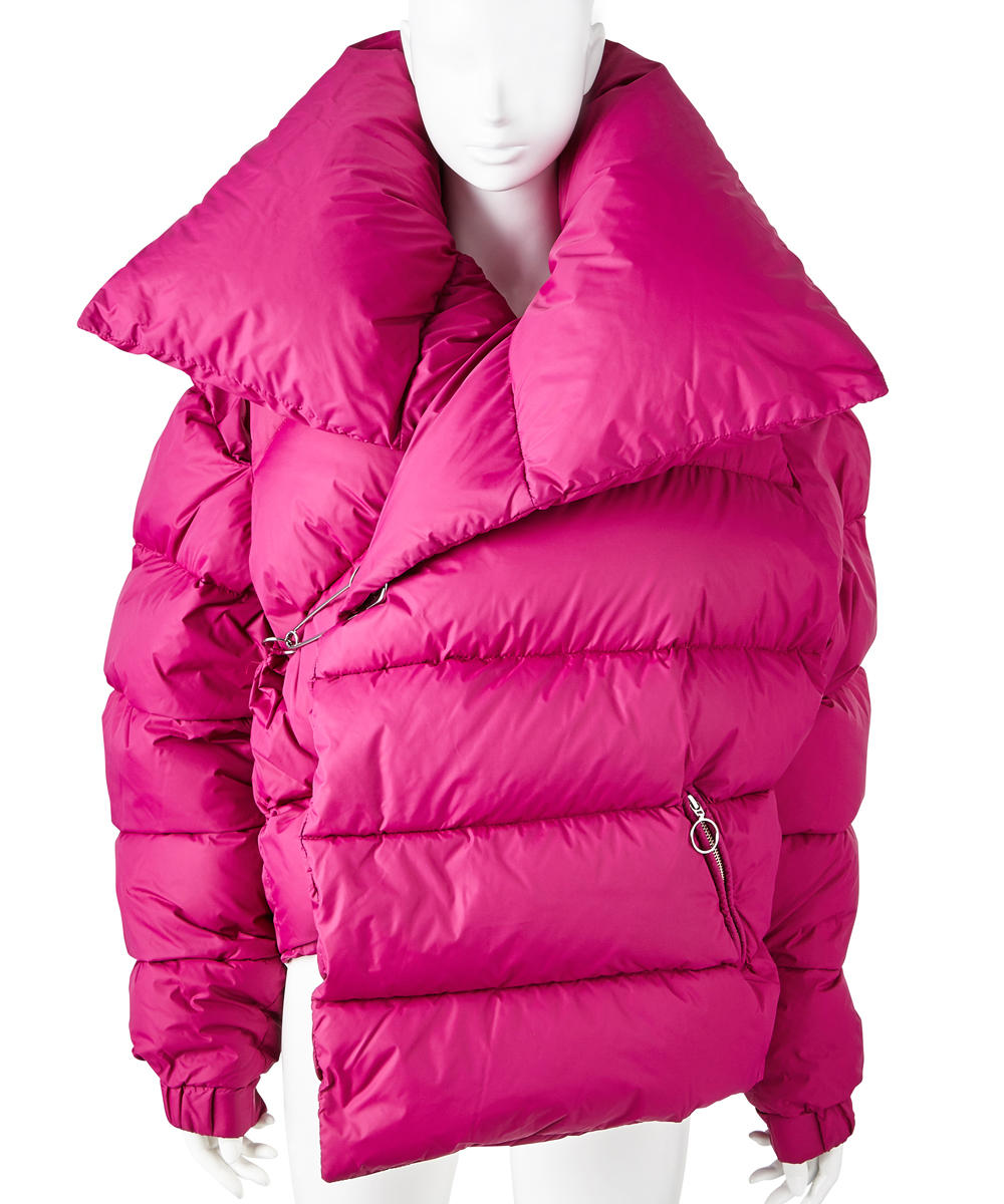 WATERPROOF ASYMMETRIC PUFFA JACKET