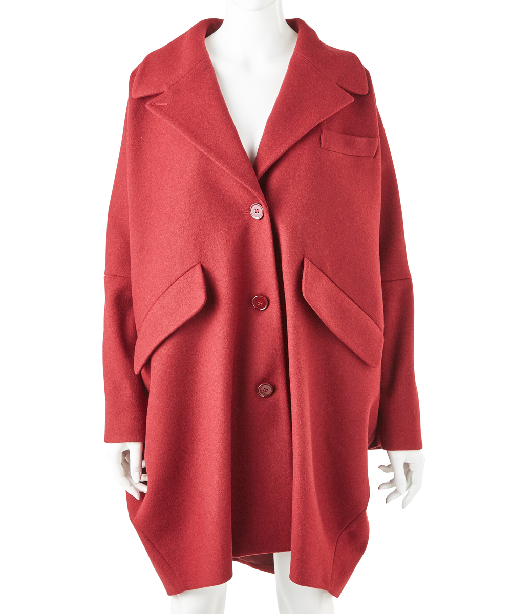 MELTON BIG COAT